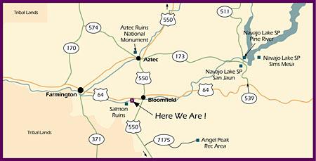 Angel Peak RV Park  New Mexico NM Near Farmington